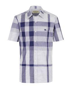 Burberry | Хлопковая Рубашка С Коротким Рукавом