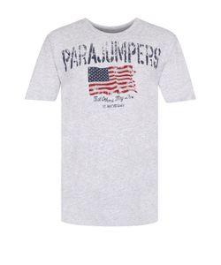 Parajumpers | Хлопковая Футболка С Принтом