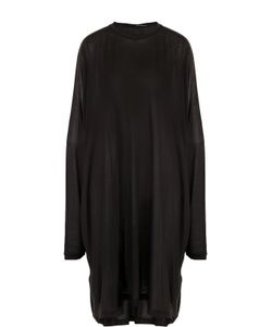 Isabel Benenato   Платье Свободного Кроя С Длинным Рукавом