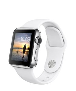 Apple | Watch 42mm Stainless Steel Case With Sport Band