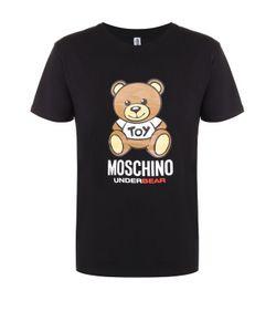 Moschino | Хлопковая Футболка С Принтом