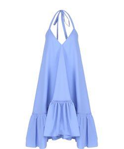 Paul & Joe | Платье Свободного Кроя С Оборкой Открытой Спиной Pauljoe