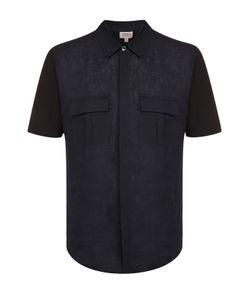 Armani Collezioni | Рубашка С Короткими Рукавами Из Смеси Хлопка И Льна