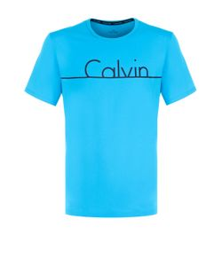 Calvin Klein   Хлопковая Футболка С Круглым Вырезом