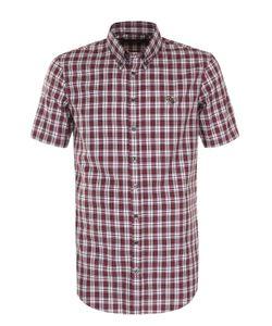 Dsquared2 | Хлопковая Рубашка В Клетку С Короткими Рукавами