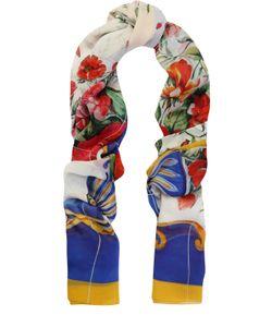Dolce & Gabbana | Шелковые Шарф С Принтом