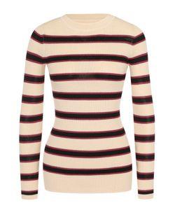 Isabel Marant Étoile | Облегающий Пуловер В Контрастную Полоску С Круглым Вырезом Isabel Marant Etoile