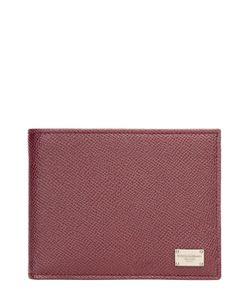 Dolce & Gabbana | Кожаное Портмоне С Логотипом Бренда