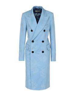 Dries Van Noten | Двубортное Пальто С Широкими Лацканами