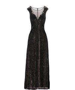 Basix Black Label | Приталенное Платье В Пол С Декоративной Вышивкой