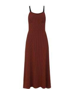 Isa Arfen | Приталенное Платье В Клетку Без Рукавов