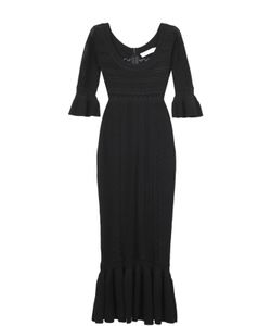 Alice McCall | Облегающее Платье С Юбкой Годе И Глубоким Круглым Вырезом