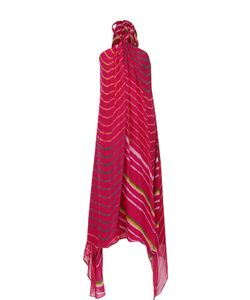 Polo Ralph Lauren | Шелковое Платье-Миди Асимметричного Роя