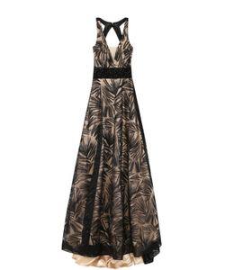 Basix Black Label | Платье-Макси С Подолом И Открытой Спиной