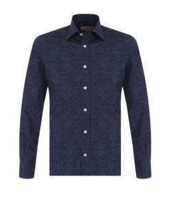 Canali | Хлопковая Рубашка С Принтом