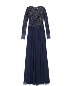 Basix Black Label | Платье-Макси С Длинным Рукавом И Декорированным Лифом