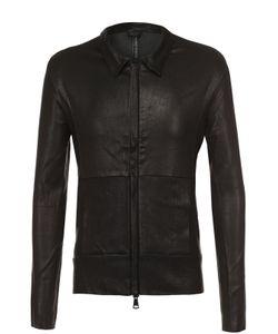 Giorgio Brato | Кожаная Куртка На Молнии С Отложным Воротником