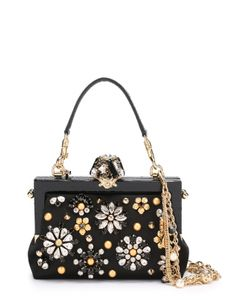 Dolce & Gabbana | Клатч Vanda С Отделкой Кристаллами