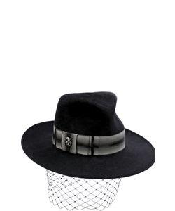 Philip Treacy | Вечерняя Фетровая Шляпа С Декором