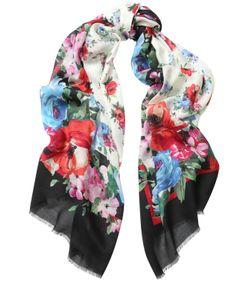 Dolce & Gabbana | Шарф С Цветочным Принтом