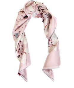 Valentino | Шелковый Платок С Принтом