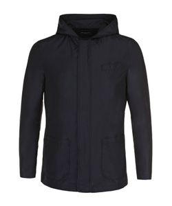 Kiton | Куртка С Добавлением Шелка На Молнии С Капюшоном