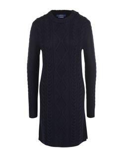 Polo Ralph Lauren | Шерстяное Платье Фактурной Вязки