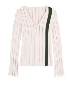 Marco De Vincenzo | Облегающий Пуловер С Перфорацией И V-Образным Вырезом