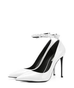 Balenciaga | Лаковые Туфли С Ремешком На Щиколотке