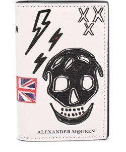 Alexander McQueen | Кожаный Футляр Для Кредитных Карт С Принтом