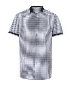 Brioni | Хлопковая Рубашка С Короткими Рукавами