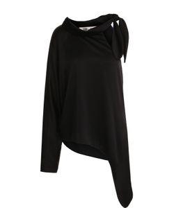 Diane Von Furstenberg | Однотонная Блуза Асимметричного Кроя