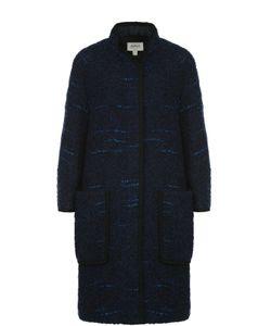 Armani Collezioni | Пальто Свободного Кроя С Накладными Карманами