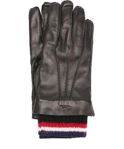 Thom Browne | Кожаные Перчатки С Кашемировой Подкладкой