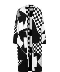 Stella Mccartney | Вязаное Пальто С Широкими Лацканами