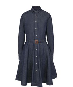 Polo Ralph Lauren | Джинсовое Платье-Рубашка С Поясом