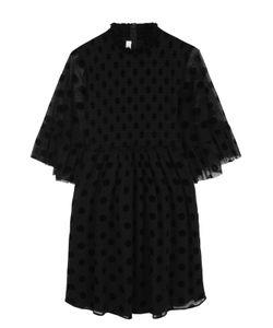 Mcq Alexander Mcqueen | Мини-Платье С Завышенной Талией И Коротким Рукавом
