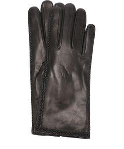 Sermoneta Gloves | Кожаные Перчатки С Меховой Подкладкой
