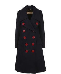 Burberry   Двубортное Шерстяное Пальто