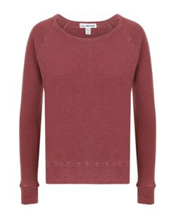 James Perse | Хлопковый Пуловер Прямого Кроя С Круглым Вырезом