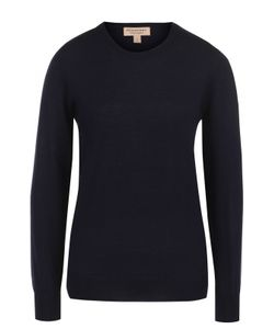 Burberry | Шерстяной Пуловер Прямого Кроя С Заплатками