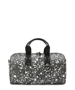 Dior | Спортивная Сумка С Принтом Speckle И Отделкой Из Натуральной Кожи