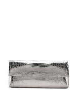 Nancy Gonzalez | Клатч Из Металлизированной Кожи Каймана