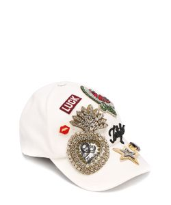 Dolce & Gabbana | Бейсболка С Нашивкой И Кристаллами