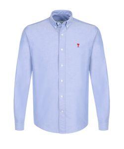 Ami | Хлопковая Рубашка С Воротником Button Down