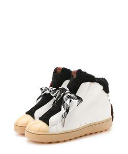 COACH | Комбинированные Ботинки С Внутренней Отделкой Из Меха