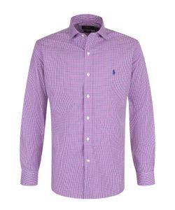 Polo Ralph Lauren   Хлопковая Рубашка В Клетку
