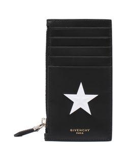 Givenchy | Кожаный Футляр Для Кредитных Карт С Отделением Для Монет