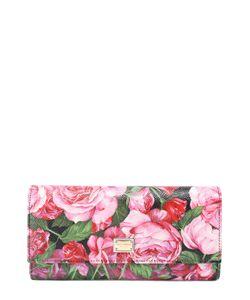 Dolce & Gabbana | Кошелек Из Кожи С Принтом