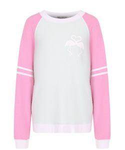 Wildfox   Пуловер Свободного Кроя С Круглым Вырезом